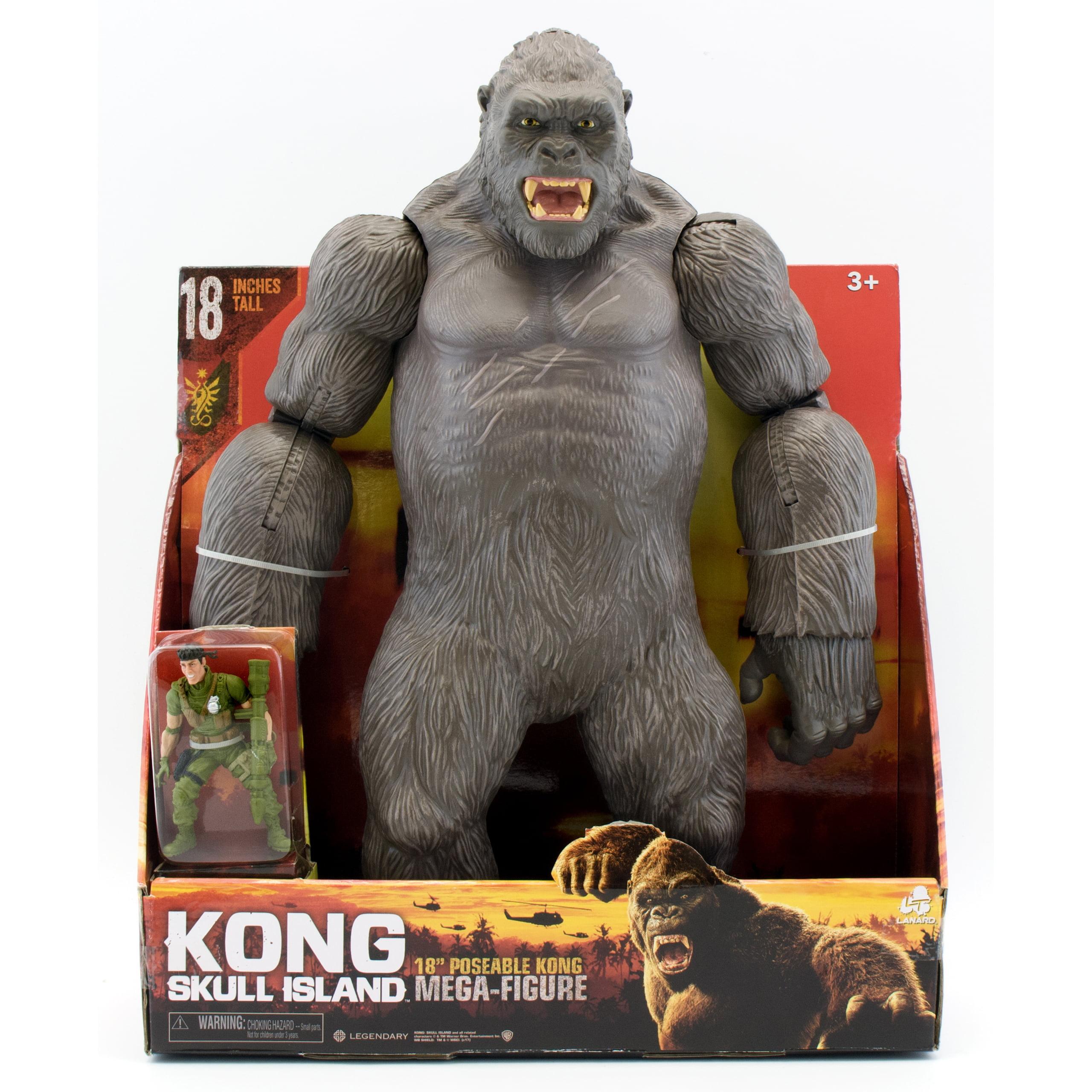 """Kong Skull Island - 18"""" Poseable Kong Mega-Figure ..."""
