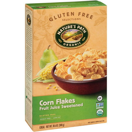 Nature's Path Organic Fruit Juice Sweetened Corn Flakes Cereal, 10.6 oz, (Pack of