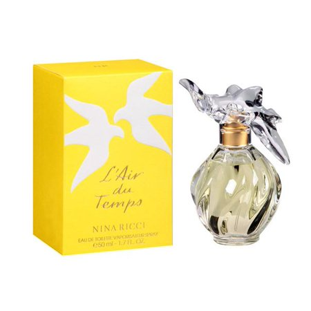 L'AIR DU TEMPS by Nina Ricci 1.7 EDT eau de toilette Women's Spray Perfume NIB