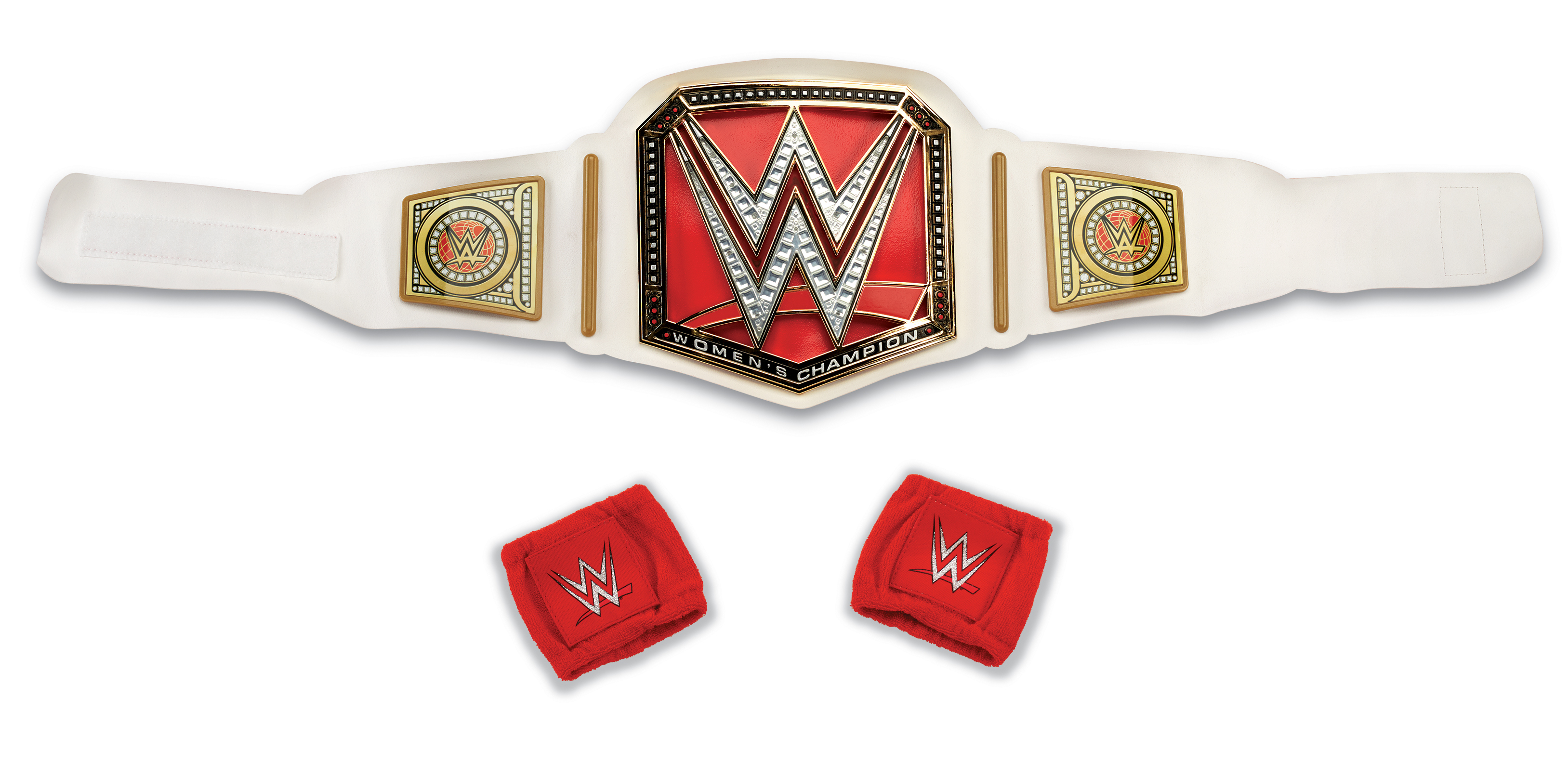 WWE Champion Adult Costume Accessory Belt and Wristbands Kit