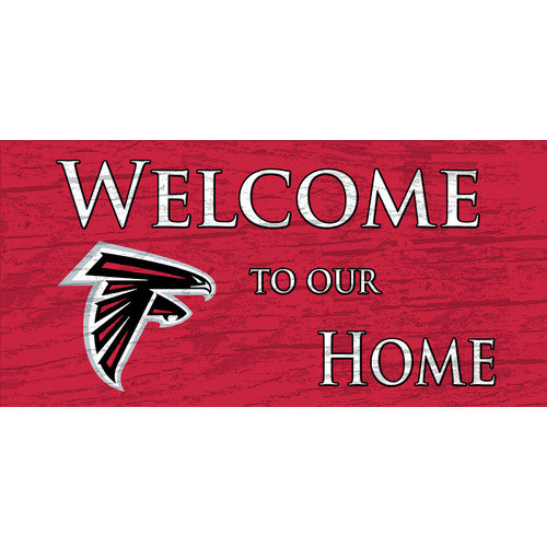 Fan Creations NFL Welcome Home Graphic Art Plaque