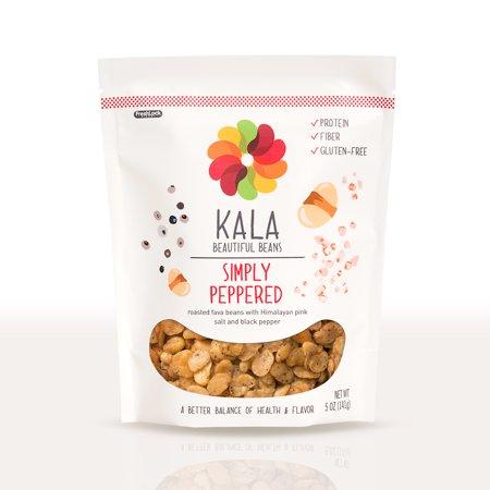 Kala Bean Snacks  Simply Peppered  5 Oz