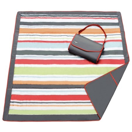 Jj Cole Outdoor Mat 5 X 7   Gray Red