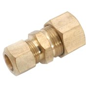 Anderson Metals Corporations 1/2 in. Compression x 3/8 in. Dia. Compression Brass Reducing Unio - Case Of: 1