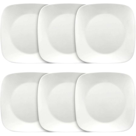 Corelle Square Pure White 10.5