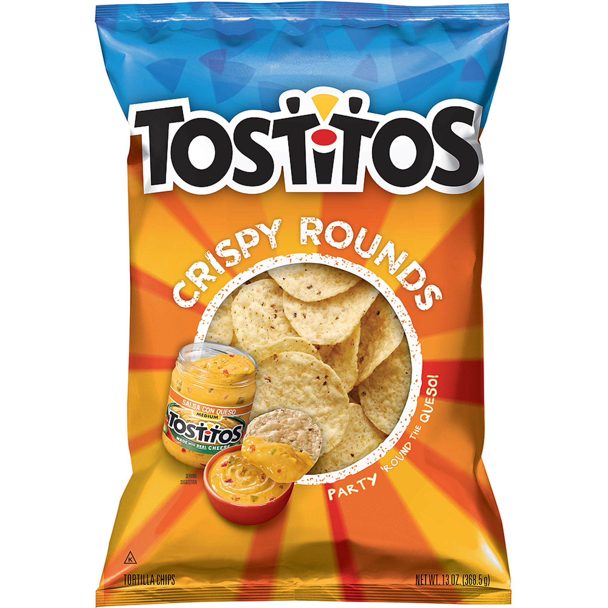 Tostitos Crispy Rounds Tortilla Chips, 13 oz.