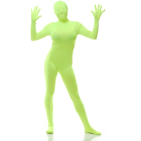 Adults Mens Womens Lime Green Always Sunny In Philadelphia Bodysuit Costume - Glow In The Dark Onesie For Adults