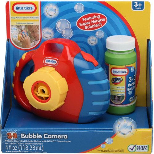 Little Tikes Bubble Camera