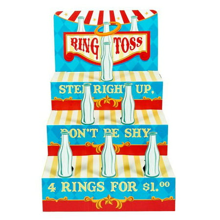 Carnival Ring Toss Game - School Halloween Carnival Game Ideas