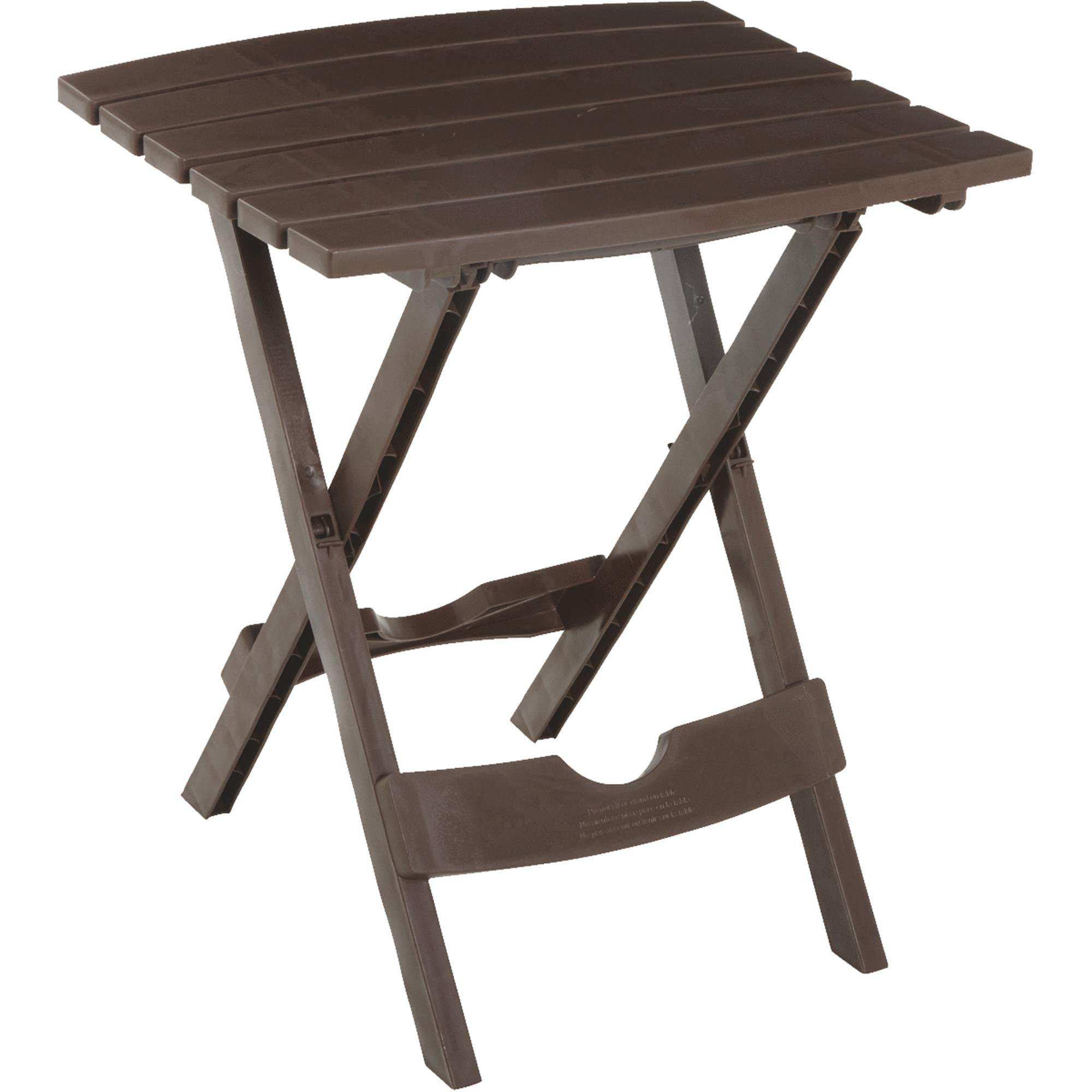 Image of Adams Manufacturing Quik-Fold Side Table, Earth