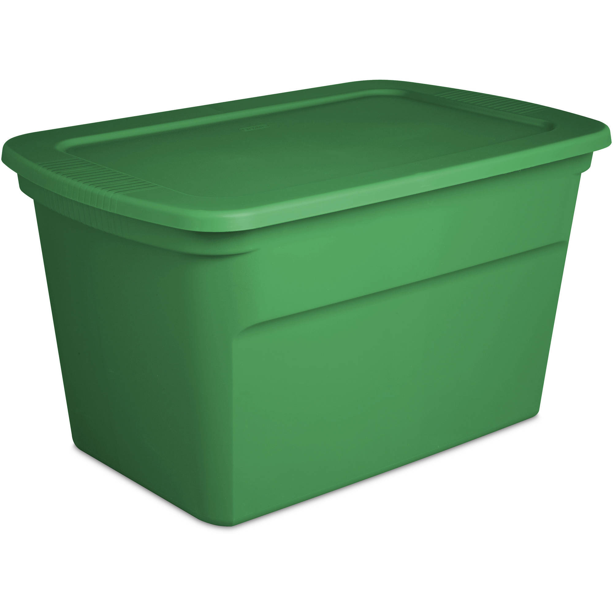 Sterilite 30-Gallon Tote Box, Elf Green