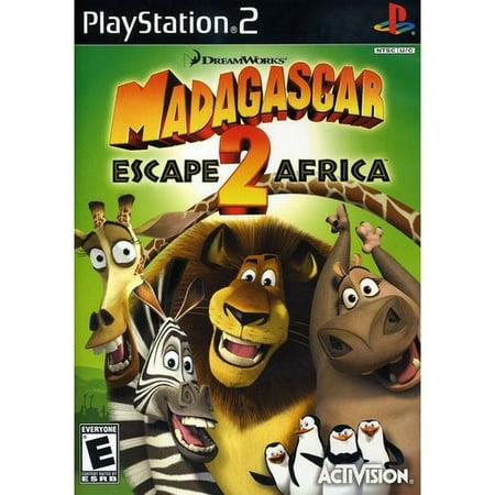 Madagascar 2: Escape 2 Africa (PS2)