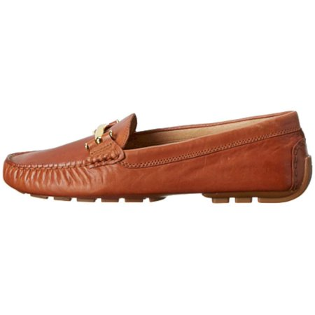 587341b7ce9 LAUREN by Ralph Lauren - Lauren By Ralph Lauren Womens Caliana Leather  Closed Toe Loafers - Walmart.com