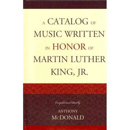Brochure Catalog Guide - A Catalog of Music Written in Honor of Martin Luther King Jr.