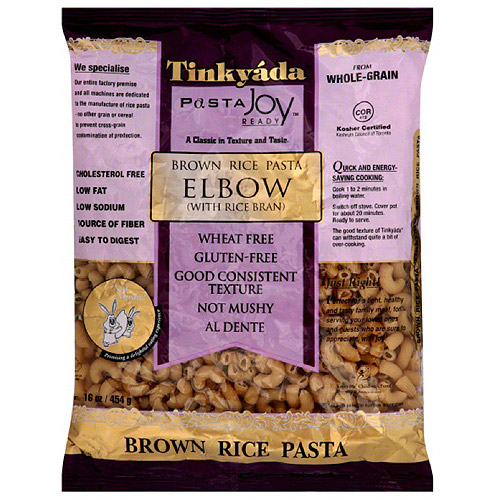 Tinkyada Elbow Brown Rice Pasta, 16 oz, (Pack of 12)