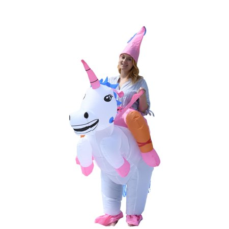 Princess Adult Halloween Costumes (ALEKO Halloween Inflatable Party Costume - Princess Unicorn Rider - Adult)