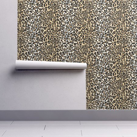 Peel-and-Stick Removable Wallpaper Spots Animal Jungle Leopard