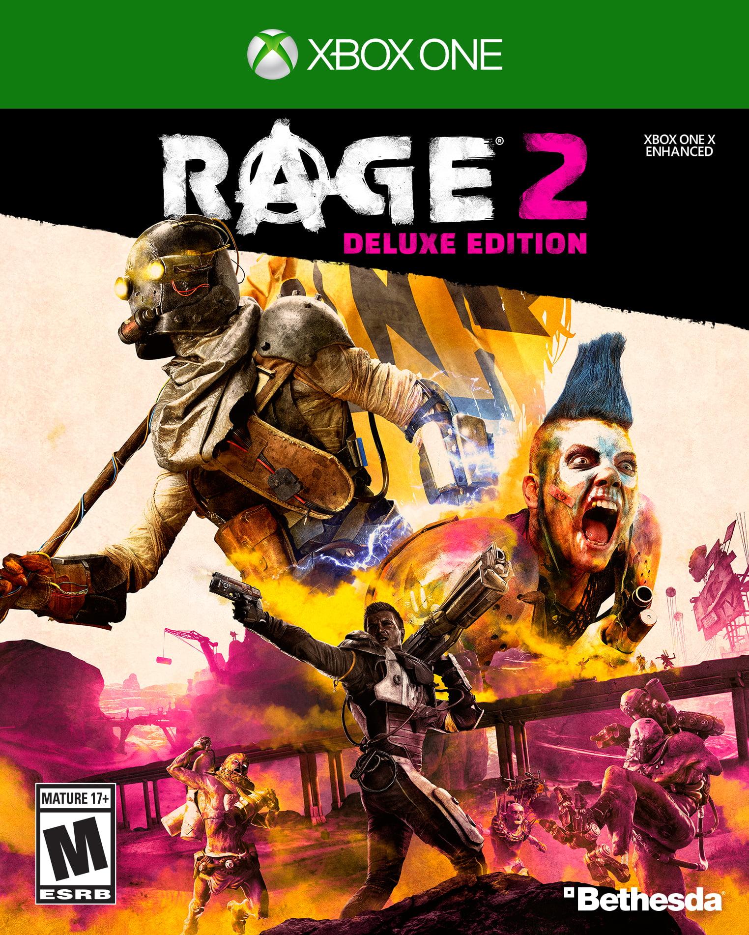 Rage 2 Deluxe Edition, Bethesda, Xbox One, 093155174252