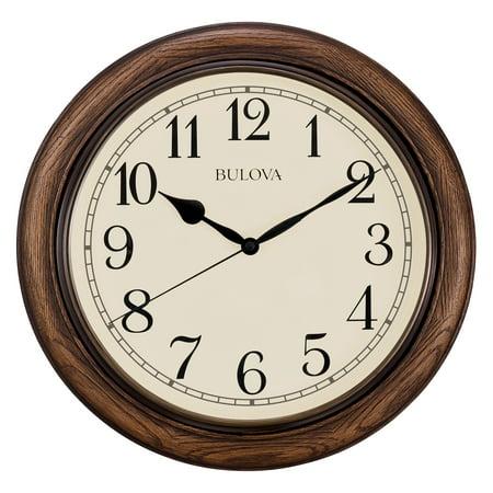 Bulova 16 diam. Oakbrook Wall Clock](Womens Cloak)
