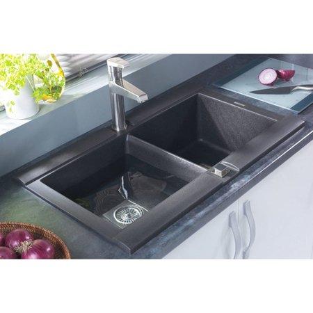 Astracast 33\'\' x 20\'\' Geo Granite ROK Double Bowl Kitchen Sink ...
