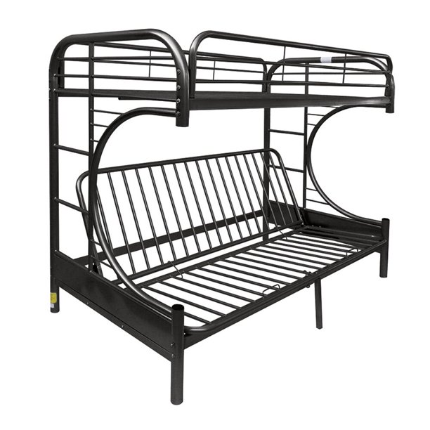 ACME Eclipse Twin/Full/Futon Bunk Bed in Black
