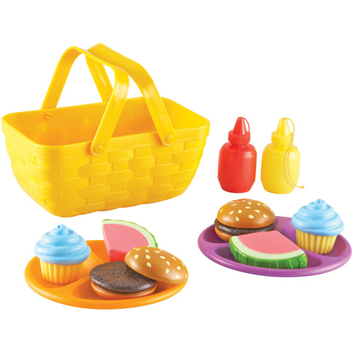 Learning Resources New Sprouts Picnic Set, 15-Piece