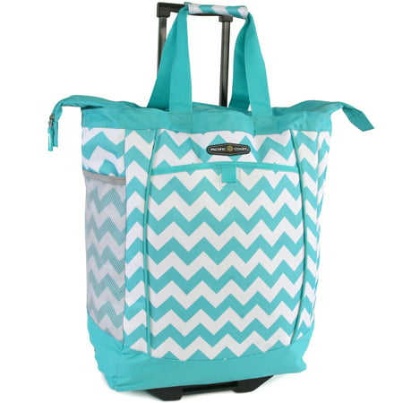 Rolling Shopping Tote Bag