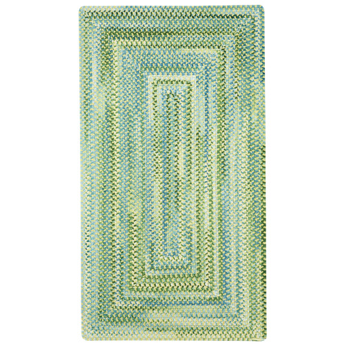 Capel Rugs Waterway Green/White Area Rug