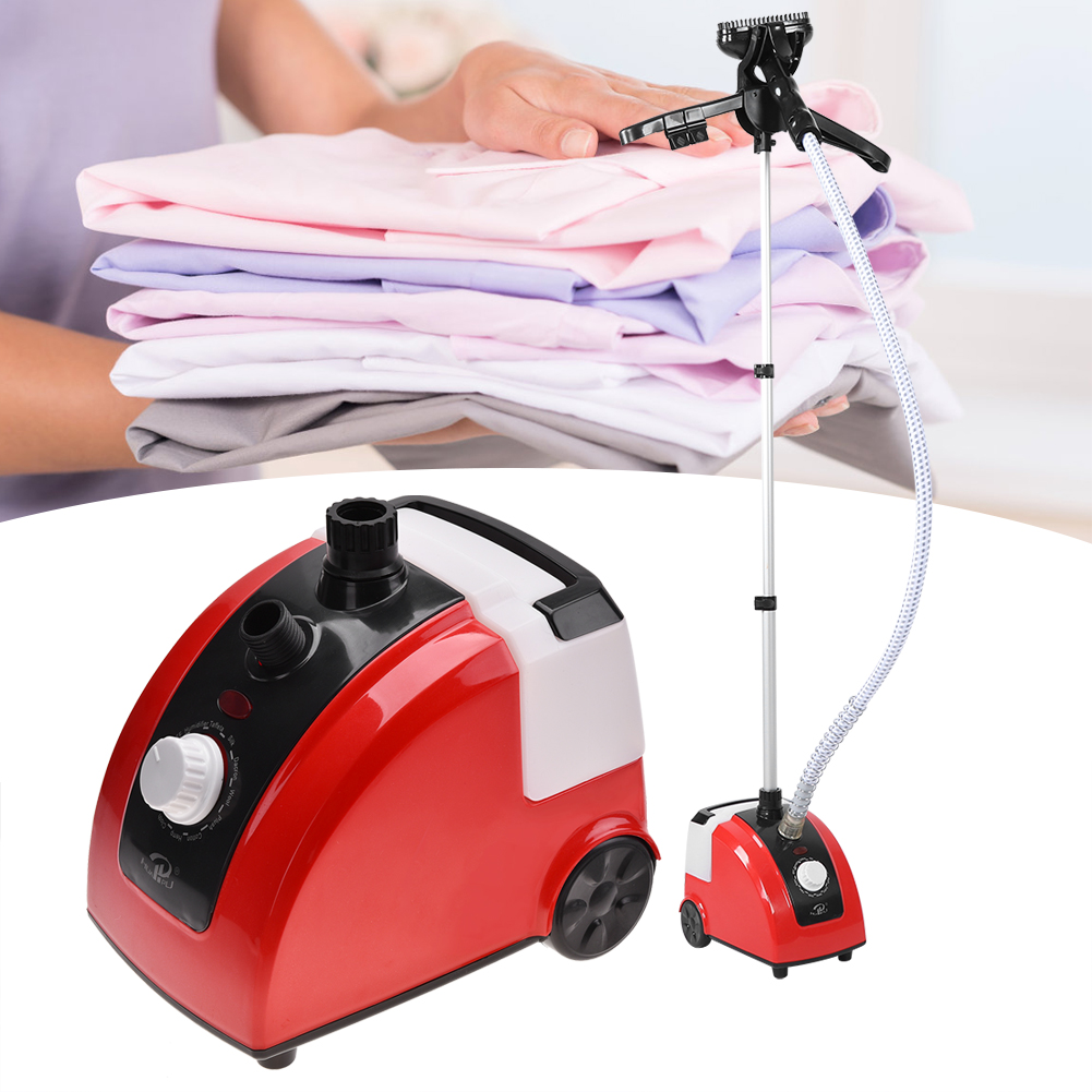 Clothes Standing Steamer,YMIKO Garment Fabric Clothes Standing Steamer Wrinkle Remove Portable Home 110V US,Garment Steamer