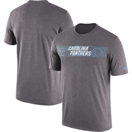 669ea4d70 Carolina Panthers Nike Sideline Seismic Legend Performance T-Shirt -  Heathered Charcoal - Walmart.com