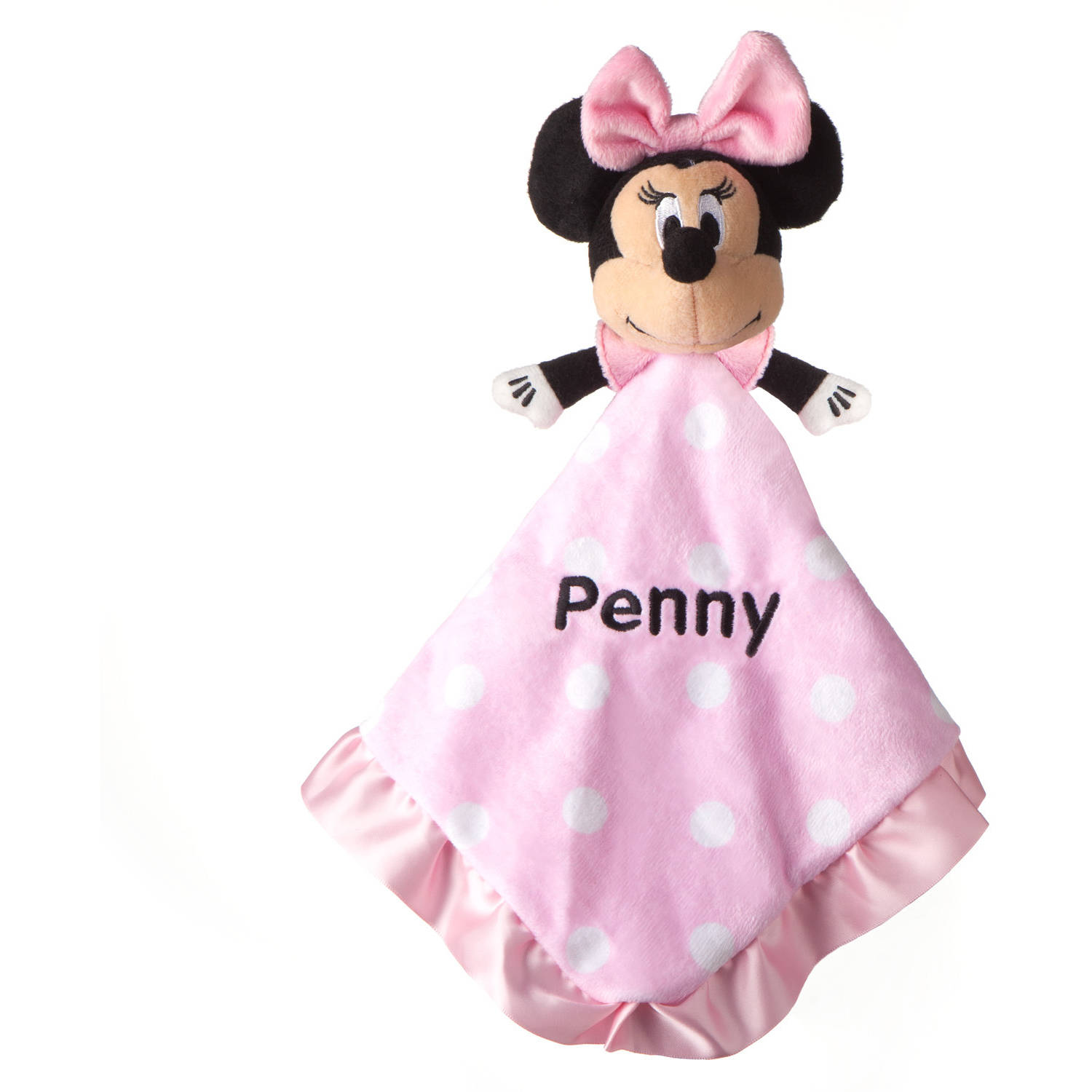 Personalized Minnie Mouse Blankey
