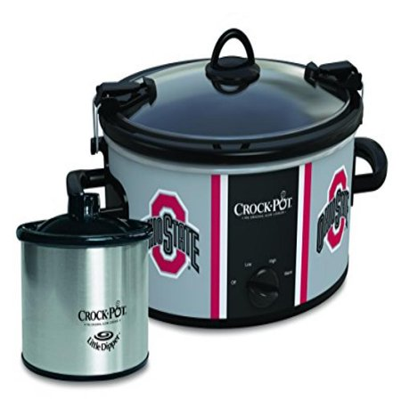 Ohio State Buckeyes Collegiate Crock-Pot Cook & Carry Slow Cooker with Bonus 16-ounce