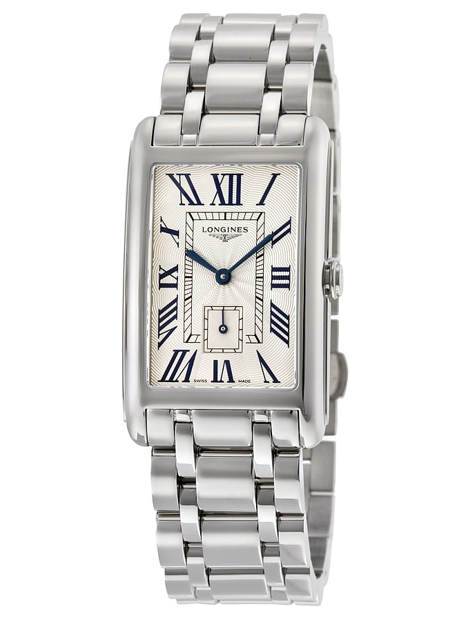 Longines Dolcevita Silver Dial Stainless Steel Ladies Watch L57554716