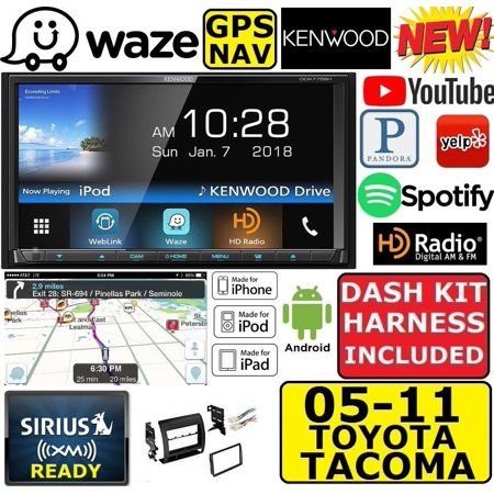 For 05 11 Tacoma Kenwood Waze Navigation Apple Android Bluetooth Usb