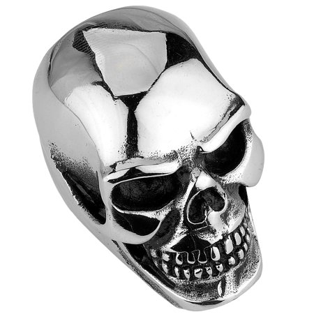 Heavy Mens Ring - Stainless Steel very Big and Heavy Skull Ring (Available in Sizes 10 to 14) size 12
