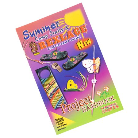 Craft County Summer Camp Rexlace Book - Make a Variety of Crafts - Learn New Techniques