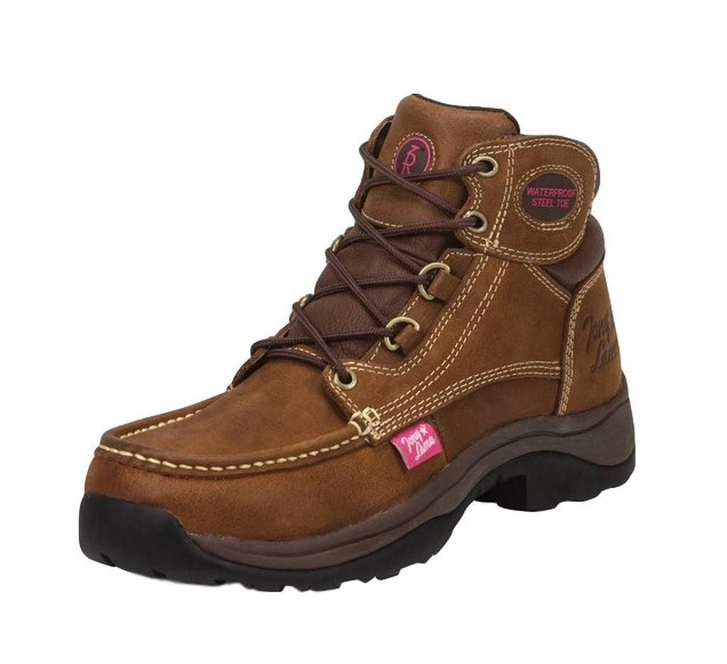 tony lama work boots womens tonk waterproof steel toe