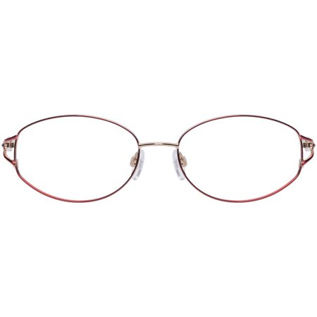 Sophia Loren Luxury Womens Prescription Glasses, M190 Burgundy