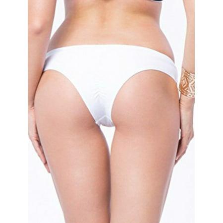 b7692a1aa Lelinta - LELINTA Women Classic Bikini Bottom Cheeky Ruched Semi Thong  Ladies Swimsuit Bottom - Walmart.com