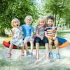 Gymax 60'' Saucer Tree Swing Surf Outdoor Adjustable Kids Giant Oval Platform Swing Set