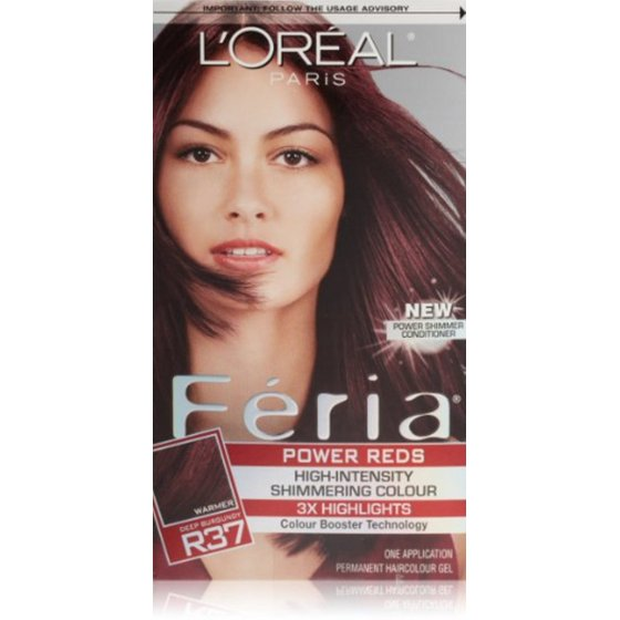 Loreal Paris Feria Power Reds High Intensity Shimmering Colour