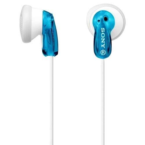 Sony MDRE9LP/BLU Fashion Earbud Headphones - Blue