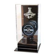 Caseworks International Chicago Blackhawks Stanley Cup Champions High Rise Puck Display Including Team Puck