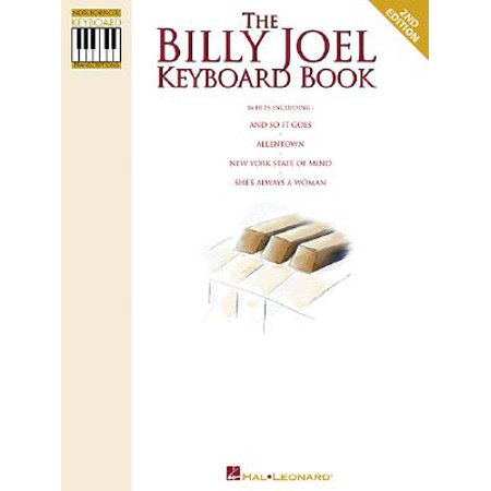 The Billy Joel Keyboard Book (New Years Eve With Billy Joel December 31)