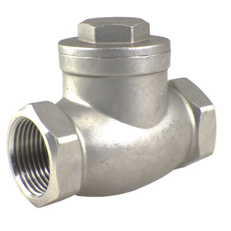 304 Stainless Steel Swing Check Valve 1/2