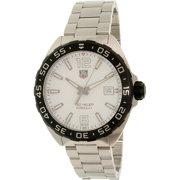 Tag Heuer Men's Formula 1 WAZ1111.BA0875 Silver Stainless-Steel Swiss Quartz Watch