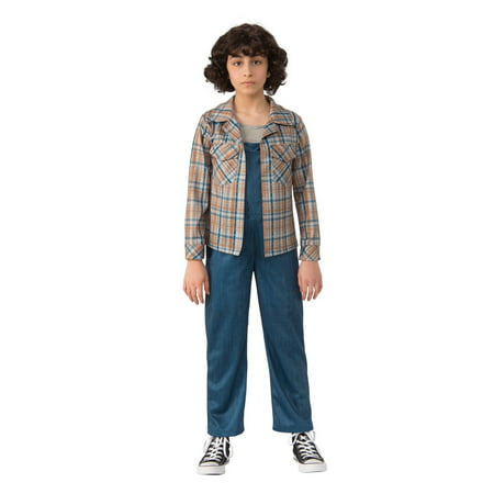 Halloween Stranger Things 2 Kids Eleven's Plaid Shirt](Elven Costumes)