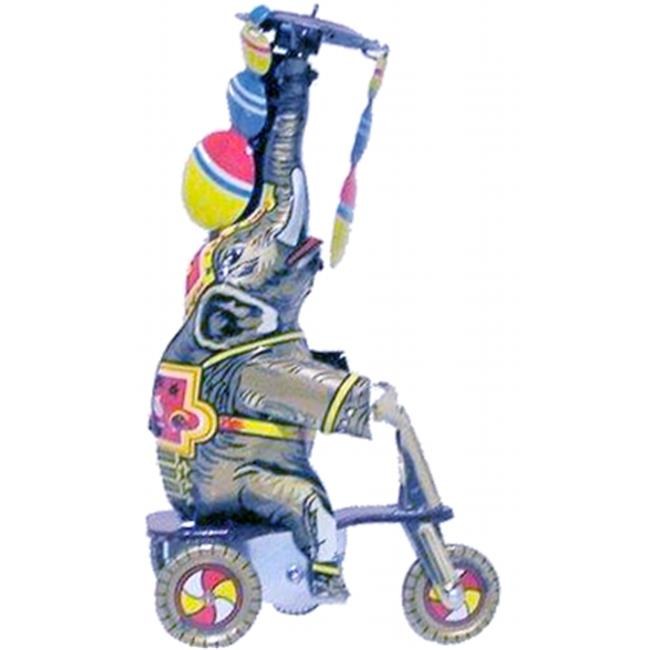 Collectible Tin Toy - Elephant on Tricycle