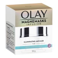 Olay Magnemasks Infusion Illuminating Jar Mask for Spots and Dullness, 50g