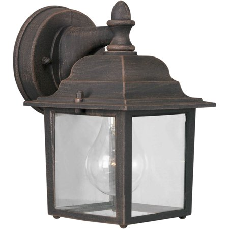 Forte Lighting 1745-01 Painted Rust Craftsman / Mission Outdoor Wall Sconce From The Arroyo Craftsman Glasgow Outdoor Fixture
